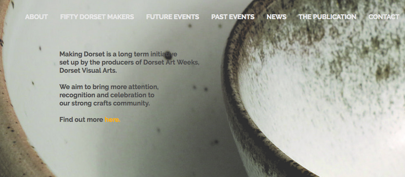 Making Dorset website is live!